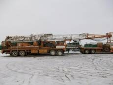 1984 Cardwell Tandem Steer Well Service Rig
