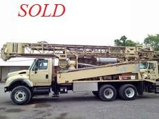 2005 Atlas Copco T3W Water Well Drill Rig