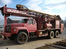1995 Schramm T450W Water Well Drill Rig